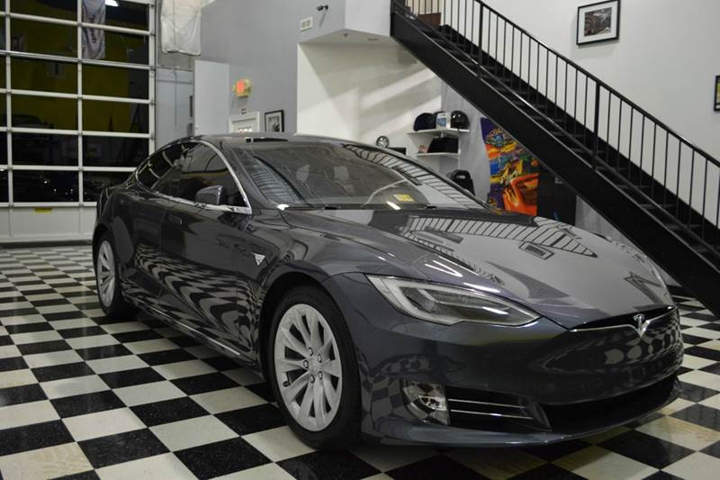2017 tesla model s 90d awd 4dr liftback in chantilly va blueline motors. Black Bedroom Furniture Sets. Home Design Ideas