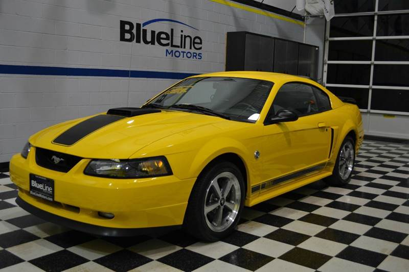 2004 ford mustang mach 1 premium 2dr coupe in chantilly va blueline motors. Black Bedroom Furniture Sets. Home Design Ideas