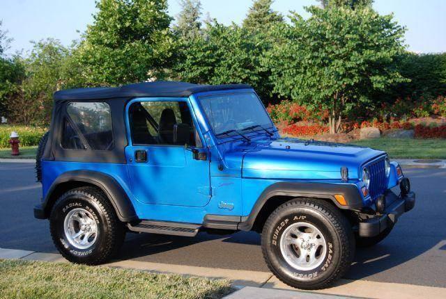 1999 jeep wrangler sport 2dr 4wd convertible in chantilly ashburn alexandria blueline motors. Black Bedroom Furniture Sets. Home Design Ideas