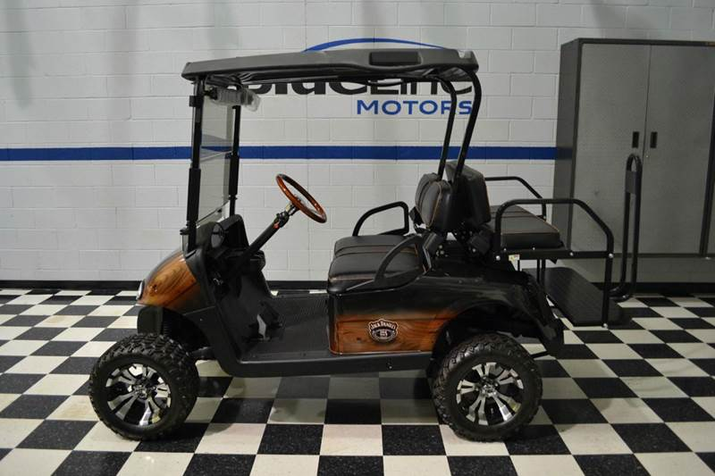 2009 ezgo rxv 48v electric lifted golf cart in chantilly for Golf cart motors electric