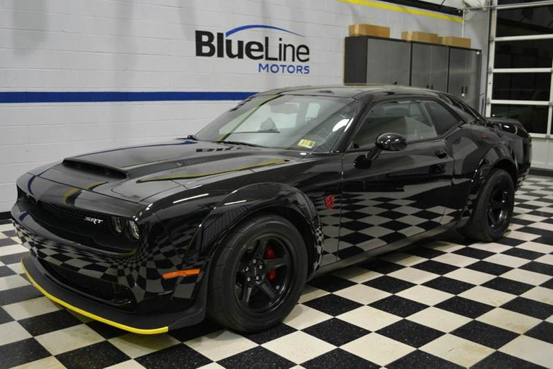 2018 Dodge Challenger Srt Demon 2dr Coupe In Chantilly Va Blueline