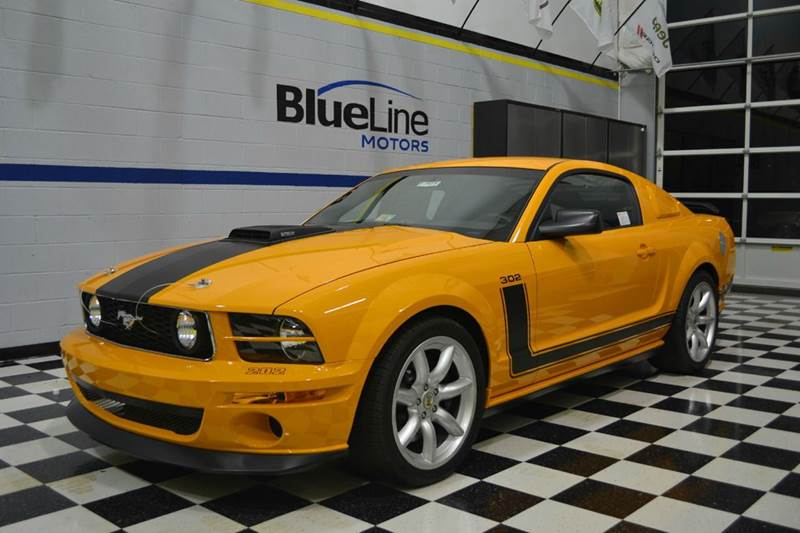 2007 Ford Mustang SALEEN 302 PARNELLI JONES LIMITED EDITION 202 OF 500