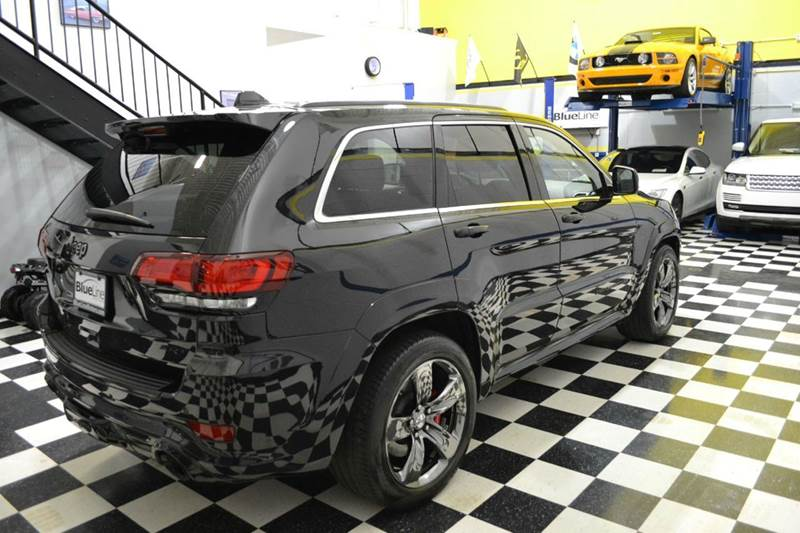 2015 jeep grand cherokee srt red vapor edition in chantilly va blueline motors. Black Bedroom Furniture Sets. Home Design Ideas