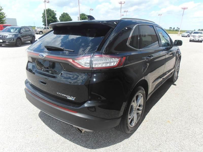 2015 Ford Edge Titanium AWD 4dr SUV - Mason City IA
