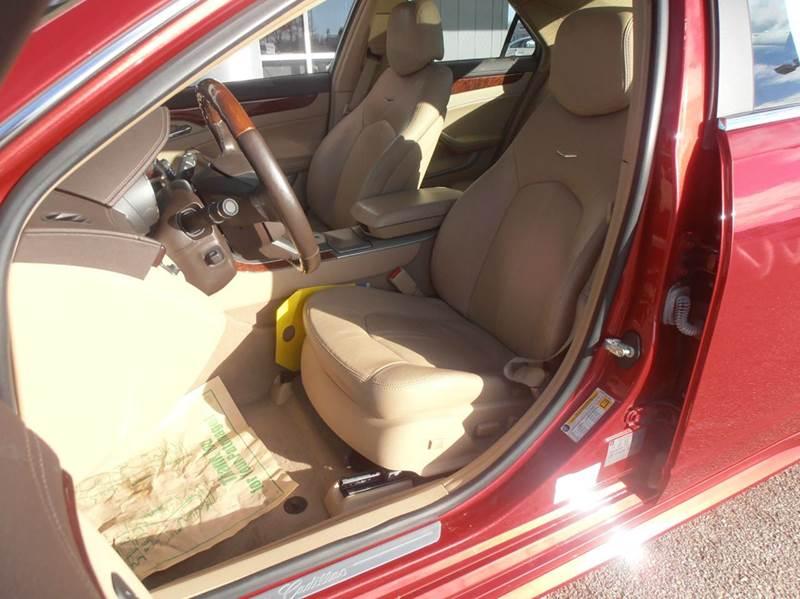 2012 Cadillac CTS AWD 3.6L Premium 4dr Sedan w/Navigation - Mason City IA