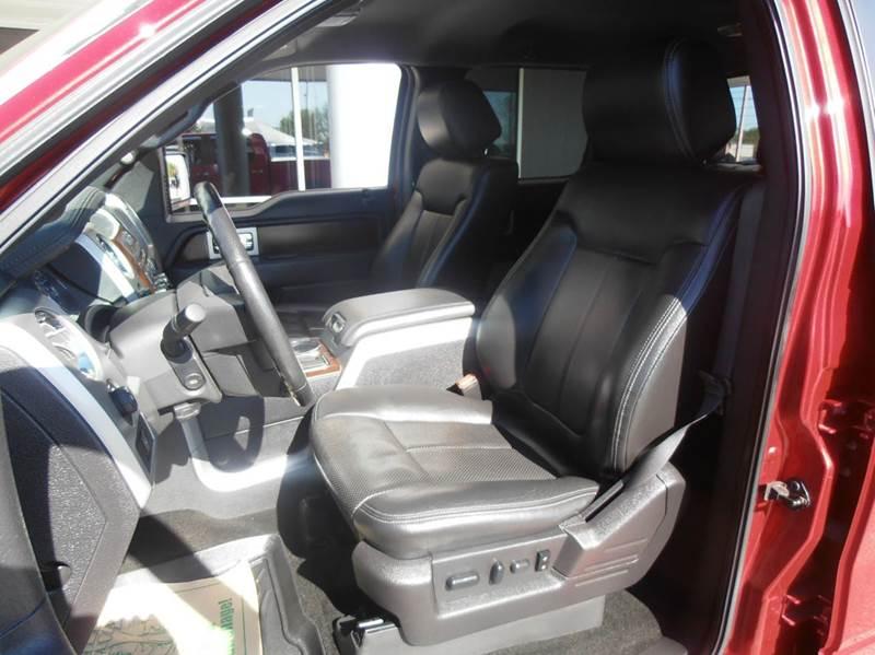 2012 Ford F-150 4x4 Lariat 4dr SuperCrew Styleside 5.5 ft. SB - Mason City IA