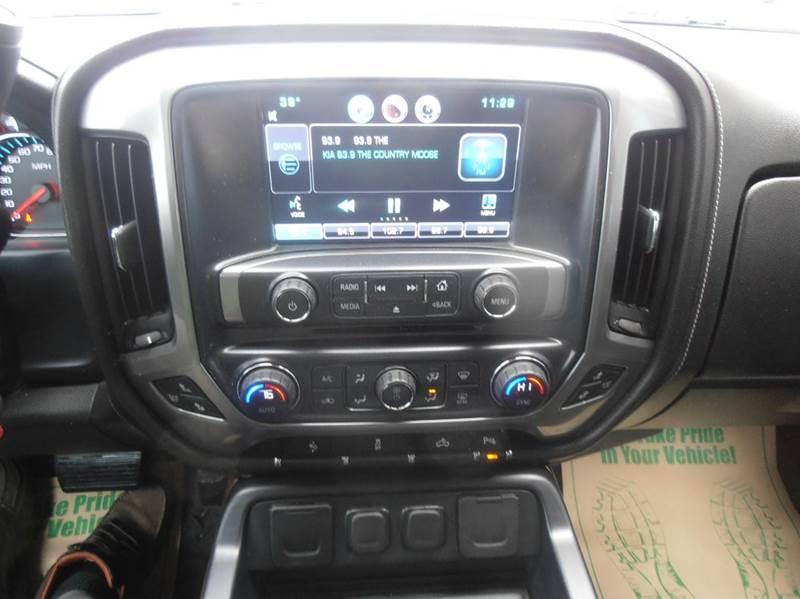 2015 Chevrolet Silverado 1500 4x4 LTZ 4dr Crew Cab 5.8 ft. SB - Mason City IA