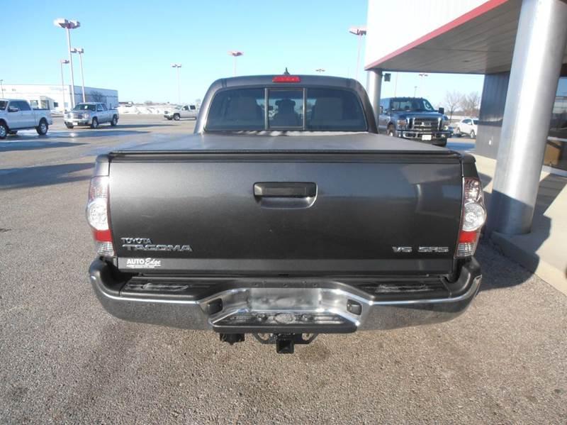 2012 Toyota Tacoma 4x4 V6 4dr Double Cab 6.1 ft LB 5A - Mason City IA