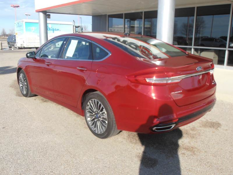 2017 Ford Fusion AWD SE 4dr Sedan - Mason City IA