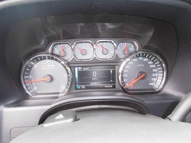 2014 Chevrolet Silverado 1500 4x4 LT 4dr Crew Cab 5.8 ft. SB w/Z71 - Mason City IA