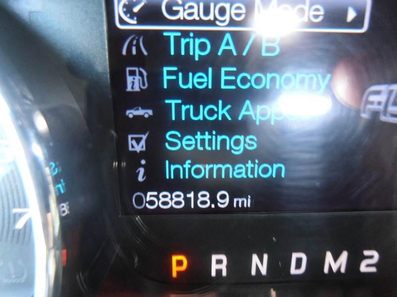 2013 Ford F-150 4x4 FX4 4dr SuperCrew Styleside 6.5 ft. SB - Mason City IA