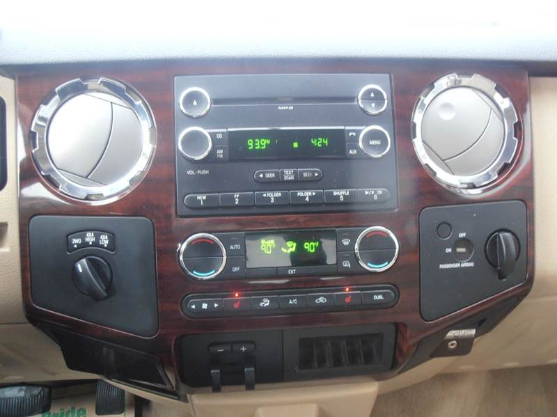2010 Ford F-350 Super Duty 4x4 Lariat 4dr SuperCab 6.8 ft. SB SRW Pickup - Mason City IA