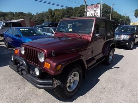 2002 Jeep Wrangler for sale in Newport News, VA