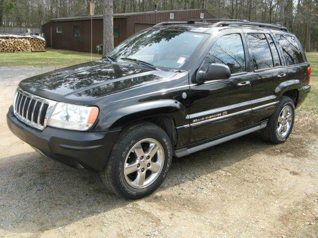 2004 jeep grand cherokee overland 4wd 4dr suv in mosinee wi champines house of wheels. Black Bedroom Furniture Sets. Home Design Ideas