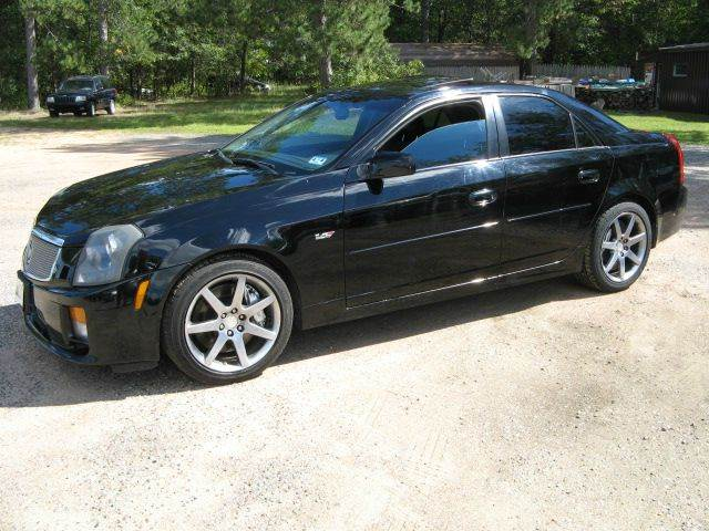2005 cadillac cts v 4dr sedan in mosinee wi champines. Black Bedroom Furniture Sets. Home Design Ideas