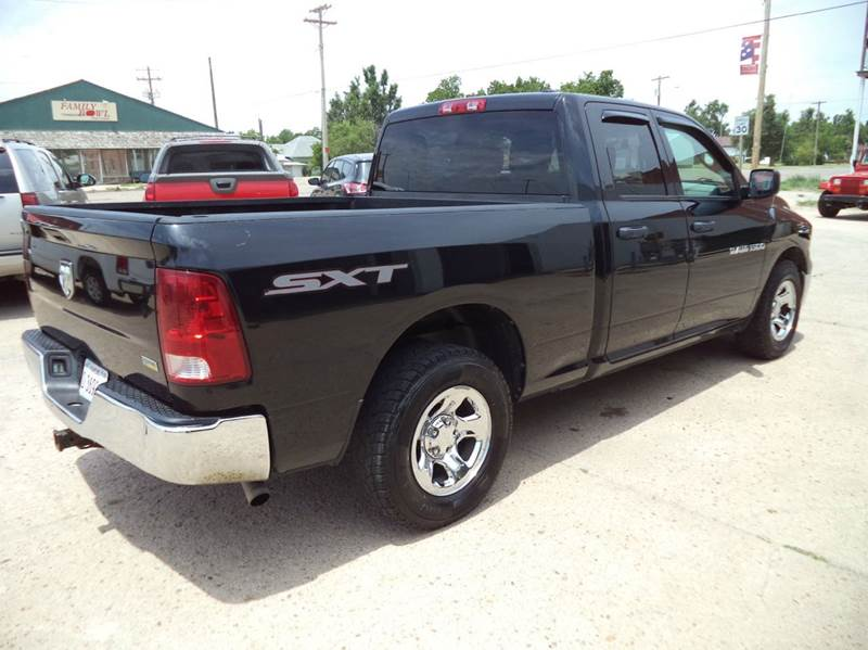 2011 RAM Ram Pickup 1500 4x2 SLT 4dr Quad Cab 6.3 ft. SB Pickup - Coldwater KS