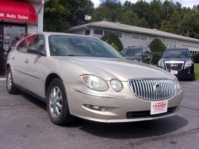 2008 buick lacrosse cx 4dr sedan in sussex nj dave franek automotive. Black Bedroom Furniture Sets. Home Design Ideas