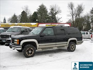 1999 GMC Suburban for sale in Portland, OR