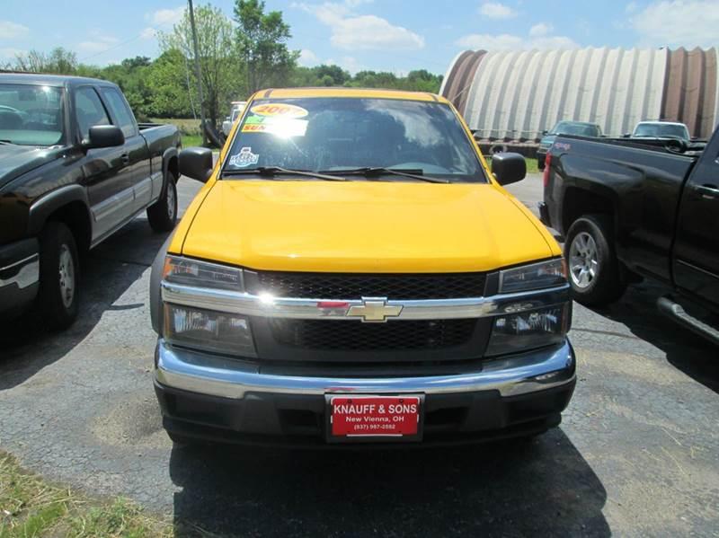 2007 Chevrolet Colorado LT 4dr Crew Cab 4WD SB - New Vienna OH