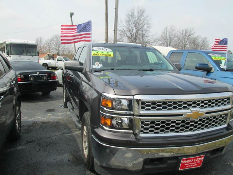 2015 Chevrolet Silverado 1500 4x4 LT 4dr Double Cab 6.5 ft. SB - New Vienna OH