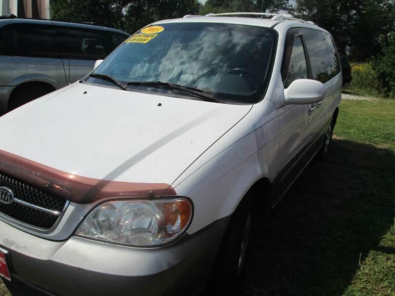2005 Kia Sedona 4dr EX Mini-Van - New Vienna OH