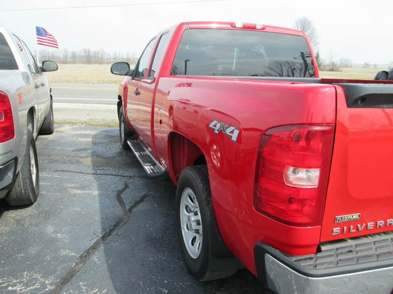 2008 Chevrolet Silverado 1500 4WD Work Truck 4dr Extended Cab 6.5 ft. SB - New Vienna OH