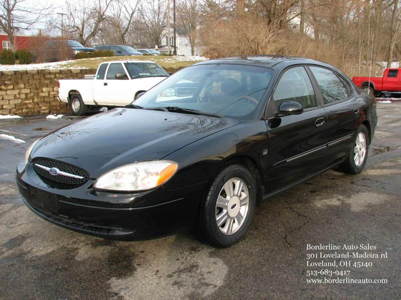 2003 ford taurus sel deluxe 4dr sedan in loveland oh. Black Bedroom Furniture Sets. Home Design Ideas