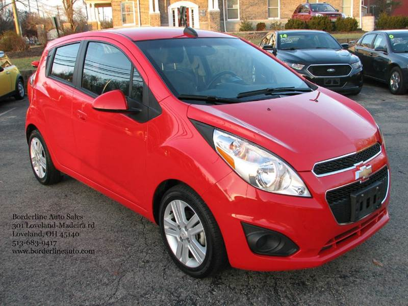 2015 chevrolet spark 1lt cvt 4dr hatchback in loveland oh. Black Bedroom Furniture Sets. Home Design Ideas