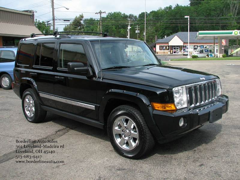 2007 jeep commander limited 4dr suv 4wd in loveland oh. Black Bedroom Furniture Sets. Home Design Ideas