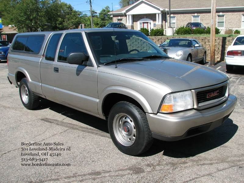 2001 gmc sonoma sls 2dr extended cab 2wd sb in loveland oh borderline auto sales. Black Bedroom Furniture Sets. Home Design Ideas