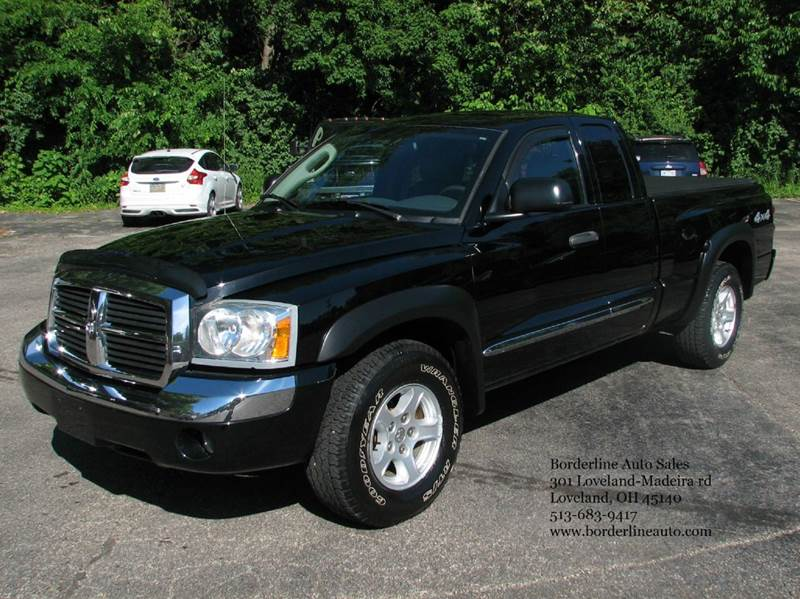 2006 dodge dakota laramie 4wd 4dr club cab sb in loveland oh borderline auto sales. Black Bedroom Furniture Sets. Home Design Ideas