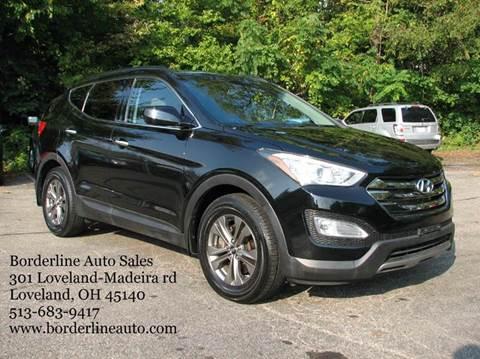 2013 Hyundai Santa Fe Sport for sale in Loveland, OH