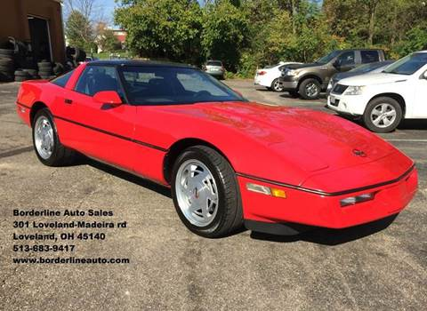 1989 Chevrolet Corvette For Sale Carsforsale Com