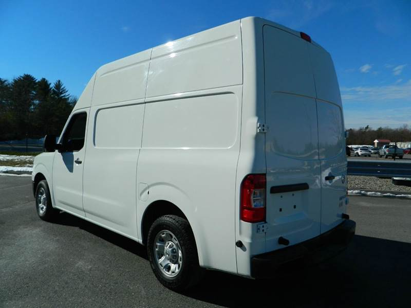 2013 nissan nv cargo 2500 hd sv 3dr cargo van w high roof v6 in exeter ri auto country sales. Black Bedroom Furniture Sets. Home Design Ideas