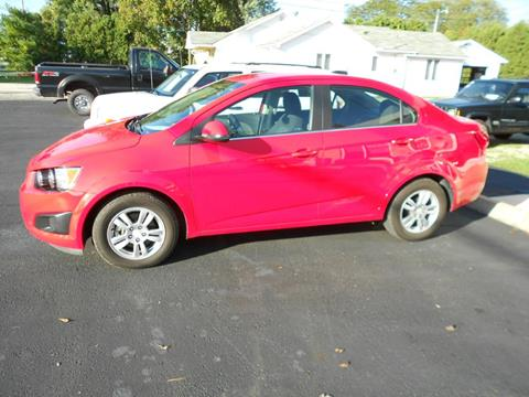 2016 Chevrolet Sonic for sale in Sidney, OH