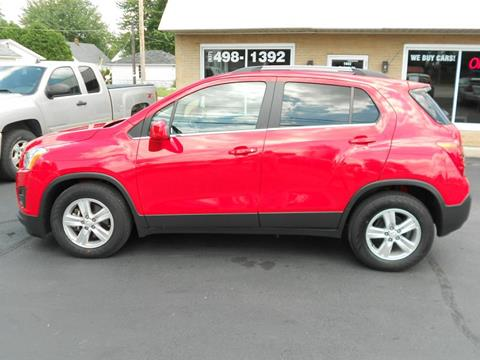 2015 Chevrolet Trax for sale in Sidney, OH