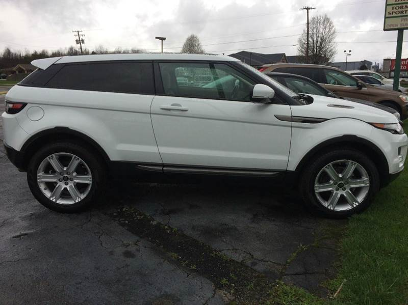 2013 Land Rover Range Rover Evoque Coupe Pure Plus AWD 2dr SUV - Canfield OH