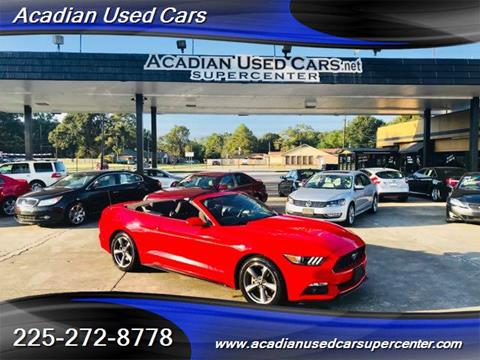 2015 Ford Mustang for sale in Baton Rouge, LA