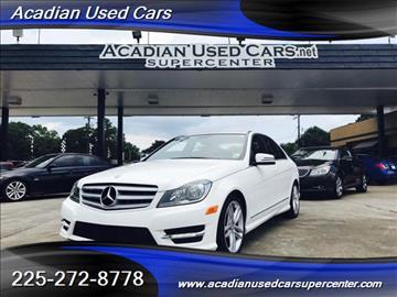 2013 Mercedes-Benz C-Class for sale in Baton Rouge, LA