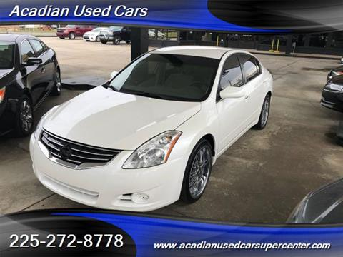 2010 nissan altima for sale in baton rouge la. Black Bedroom Furniture Sets. Home Design Ideas