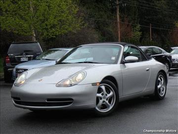 1999 Porsche 911 For Sale Carsforsale Com