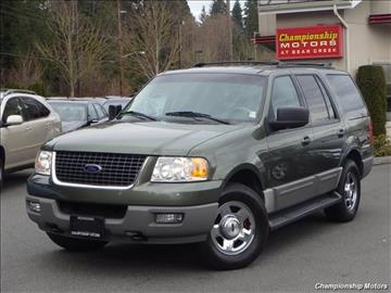 2003 Ford Expedition for sale in Redmond, WA