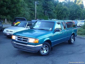 1996 Ford Ranger for sale in Redmond, WA