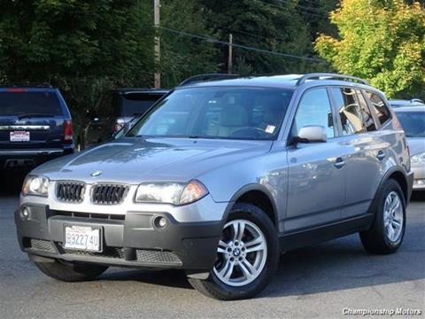 2005 BMW X3 for sale in Redmond, WA
