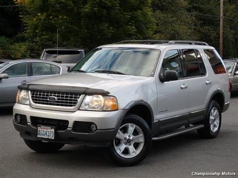 2004 Ford Explorer for sale in Redmond, WA
