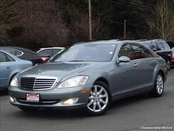 2007 Mercedes-Benz S-Class for sale in Redmond, WA