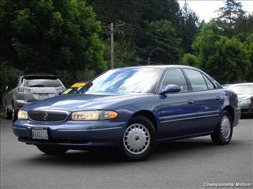 1998 Buick Century for sale in Redmond, WA