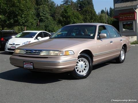Ford Crown Victoria For Sale In Redmond Wa