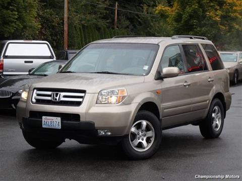 2006 Honda Pilot for sale in Redmond, WA
