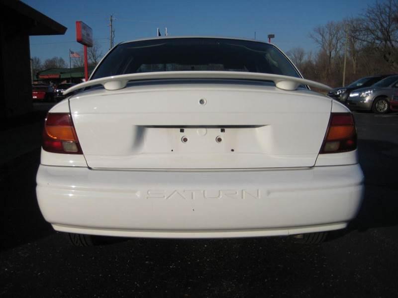 2002 Saturn S Series Sl 4 Door Sedan In Indianapolis In
